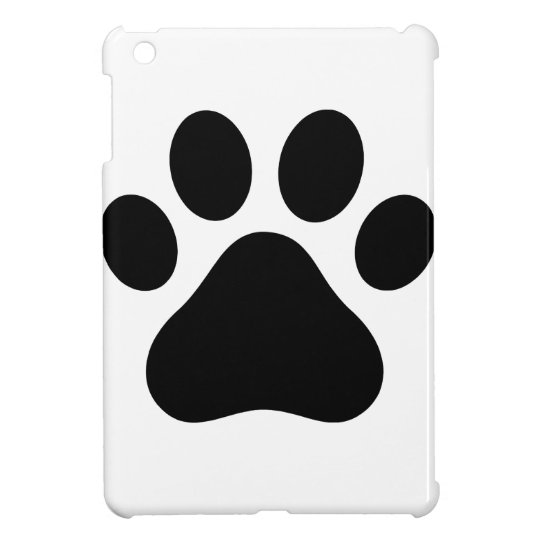 Paw print iPad mini cover