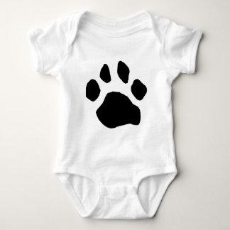 Paw Print Items Baby Bodysuit