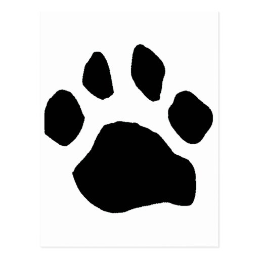 Paw Print Items Post Cards