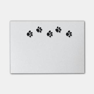 Paw Print Note Pad