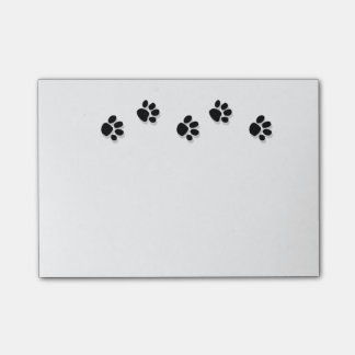 Paw Print Note Pad Post-it® Notes