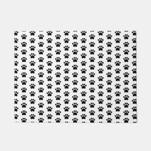 Paw Print Pattern Door Mat