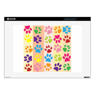 Paw Print Pet Design Decals For Laptops