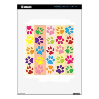 Paw Print Pet Design iPad 3 Decals