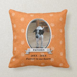 Paw Print Pet Memorial American MoJo Pillow