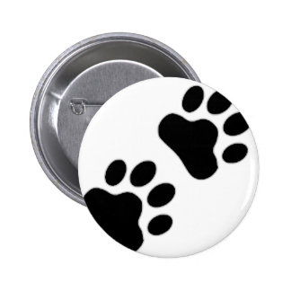 Paw Print Pinback Buttons