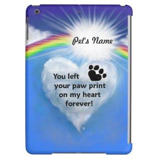Paw Print Poem iPad Air Case