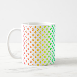 Paw Print Prism Mug