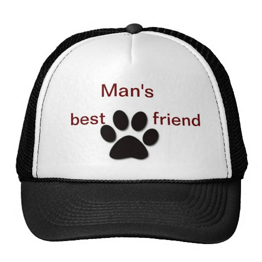 Paw print products trucker hat