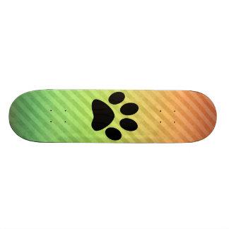 Paw Print Skateboard