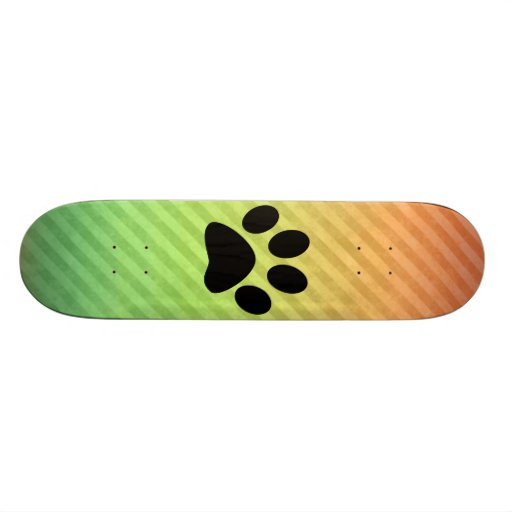 Paw Print Skate Board Decks