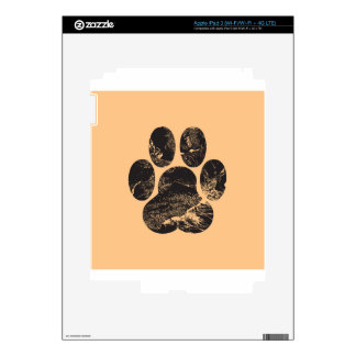 Paw Print Skins For iPad 3