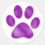 Paw Print - SRF Round Stickers