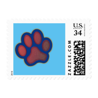 Paw Print Stamps