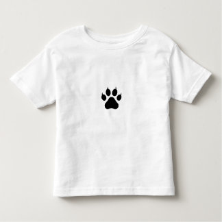 Paw Print Toddler T-shirt