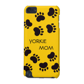 Paw Print Yorkie Mom Ipod Touch Case