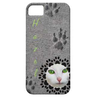 Paw Prints and Photo iPhone SE/5/5s Case
