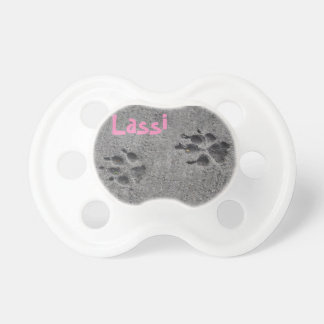 Paw Prints and Photo Pacifier