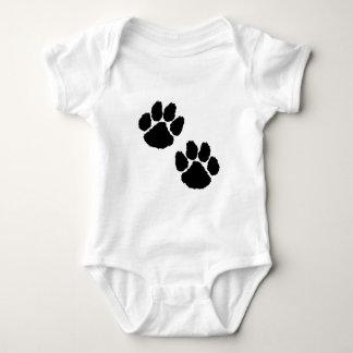 Paw Prints Baby Bodysuit