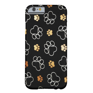 Paw Prints Barely There iPhone 6 Case