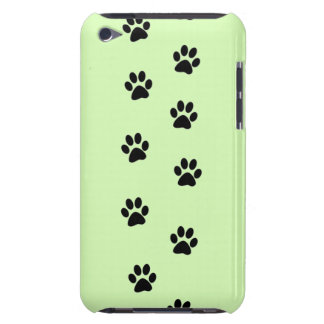 Paw Prints Barely There iPod Cover