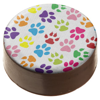 Paw Prints Chocolate Covered Oreo