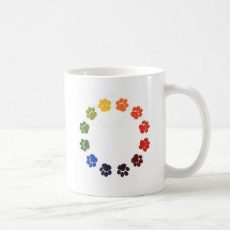 Paw Prints Circle Mug