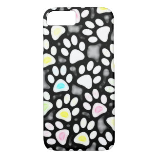 Paw Prints Collage iPhone 7 Case