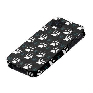 Paw Prints [Dark] Case-Mate iPhone 4 Cover