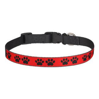 Paw Prints Design Dog Collar