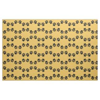 Paw Prints Design Fabric