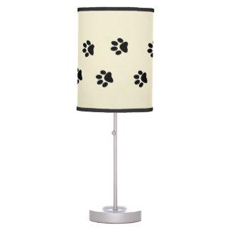 Paw Prints Desk Lamp