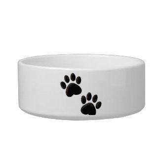 Paw Prints Dog Bowl