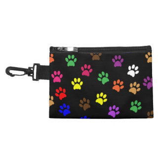 Paw prints dog pet fun colorful cute pawprints accessories bags
