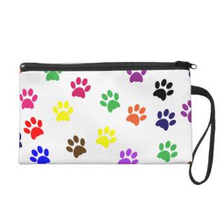 Paw prints dog pet fun colorful cute pawprints wristlets