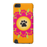 Paw Prints Flower iPod Touch 5G Cover