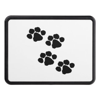 Paw Prints For Animal Lovers Trailer Hitch Cover