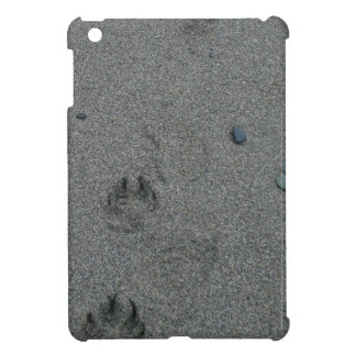 Paw Prints in the Sand iPad Mini Covers