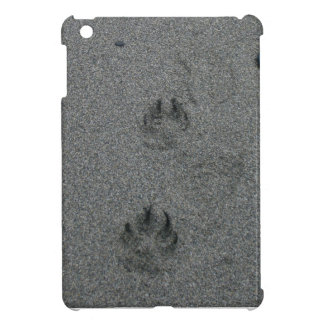 Paw Prints in the Sand iPad Mini Cases