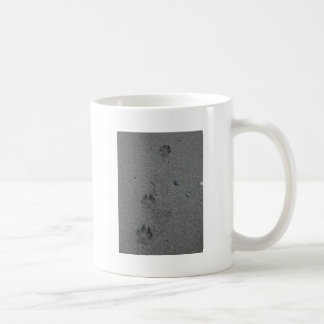 Paw Prints in the Sand Mugs