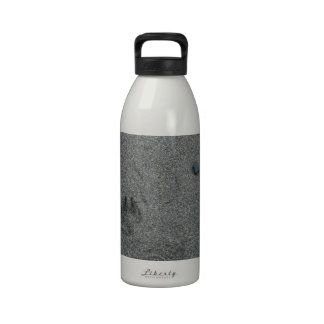Paw Prints in the Sand Water Bottles