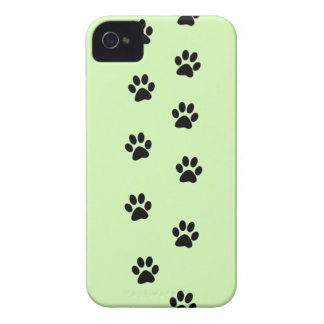 Paw Prints iPhone 4 Case