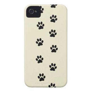 Paw Prints iPhone 4 Case-Mate Case