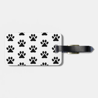 Paw Prints Tag For Luggage