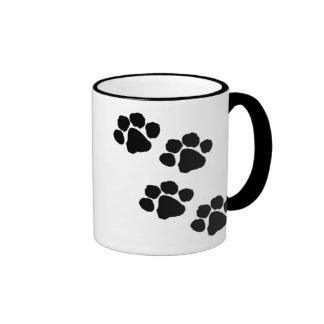 Paw Prints Coffee Mugs