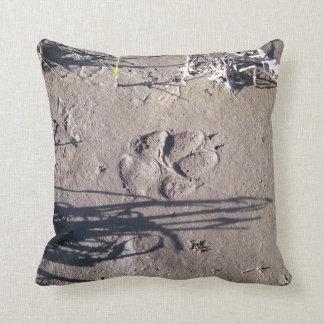 Paw Prints (nature series) Pillow