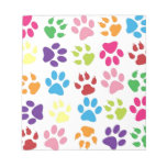 Paw Prints Note Pads