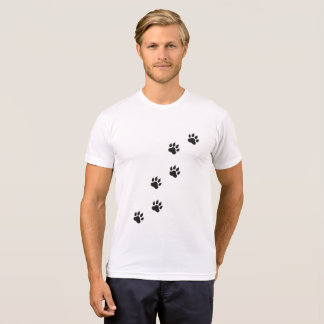 Paw prints of a cat T-Shirt