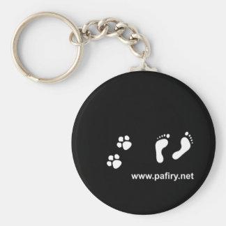 Paw prints PAFi Keychain
