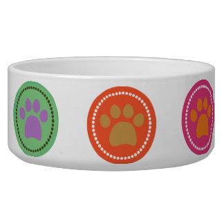Paw Prints Pet Bowl